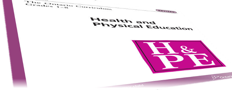 Sexual health education curriculum ontario