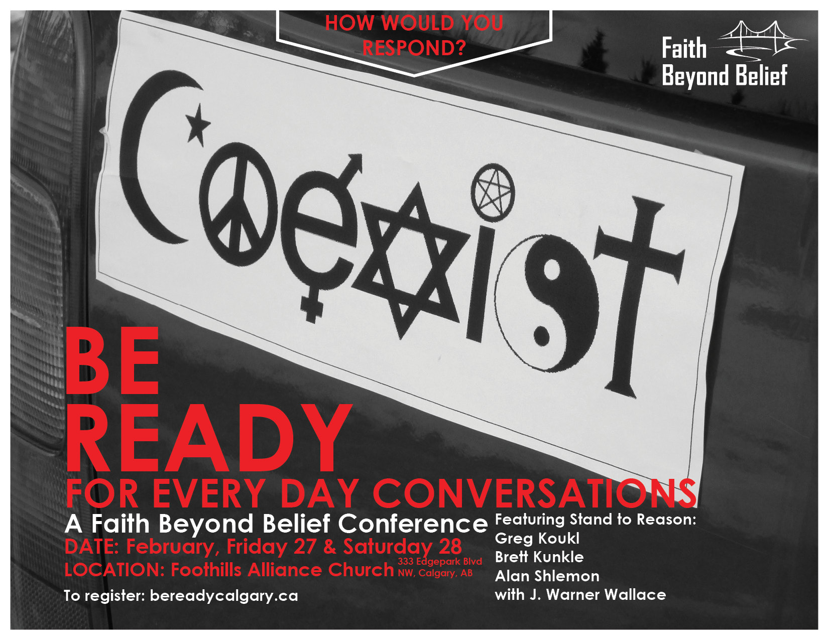 Be Ready Conference Poster
