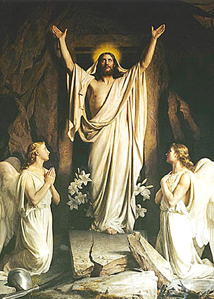 The Resurrection, by Carl Heinrich Bloch