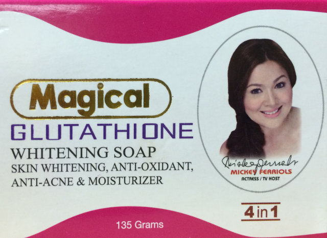 Whitening soap