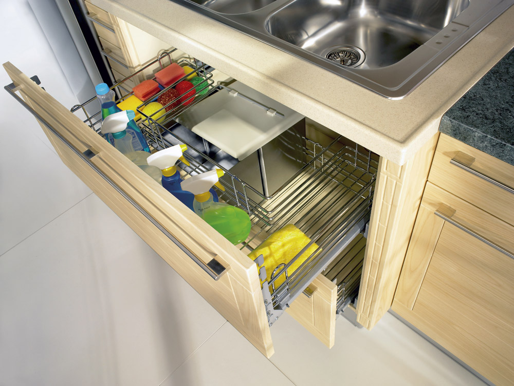 Pull-Out Sink Cupboards
