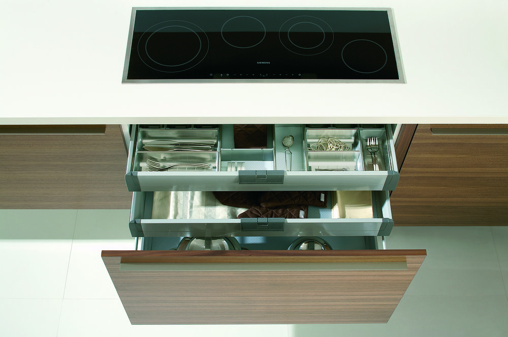 Deep Drawers with Hidden Drawers
