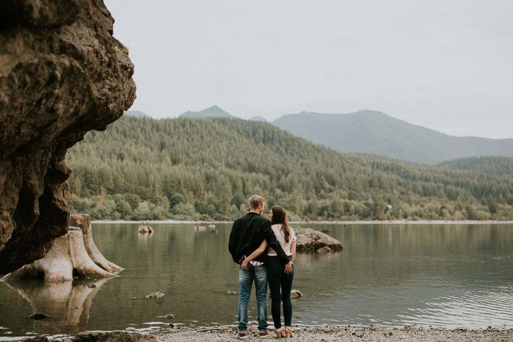 Elizabeth and Jordan at Rattlesnake River