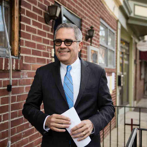 Larry Krasner - District Attorney, City of Philadelphia