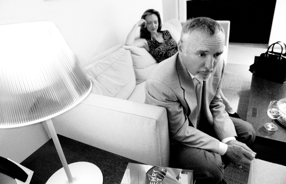 Dennis Hopper and Victoria Duffy | actors | The New York Times