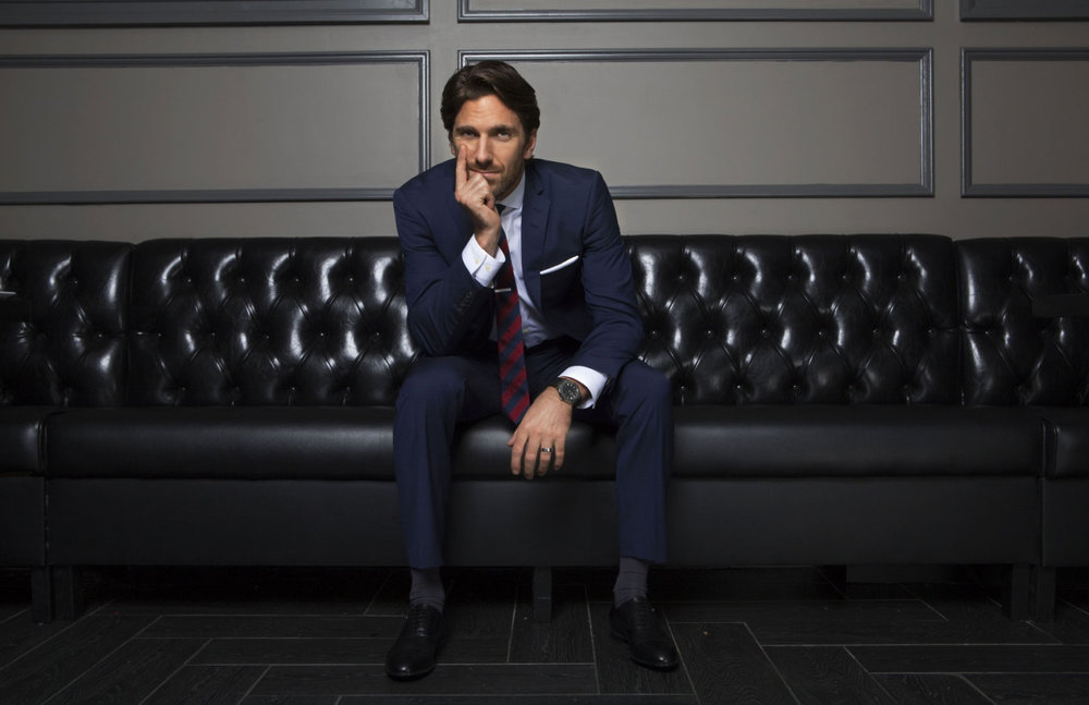 Henrik Lundqvist | goaltender | NHL hockey | Page Six Magazine
