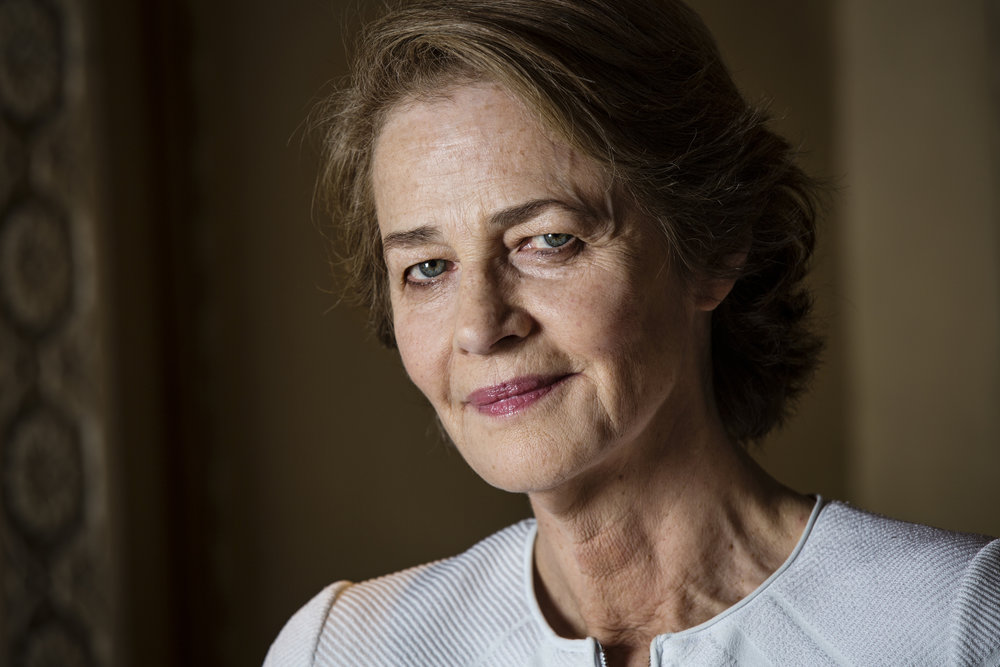 Charlotte Rampling at The Chateau