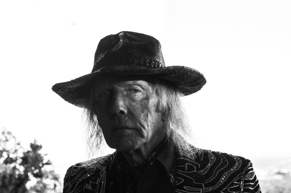 James Goldstein at his Sheets Goldstein House in Hollywood