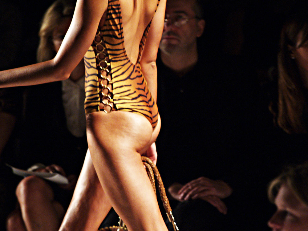 tiger bum at Michael Kors