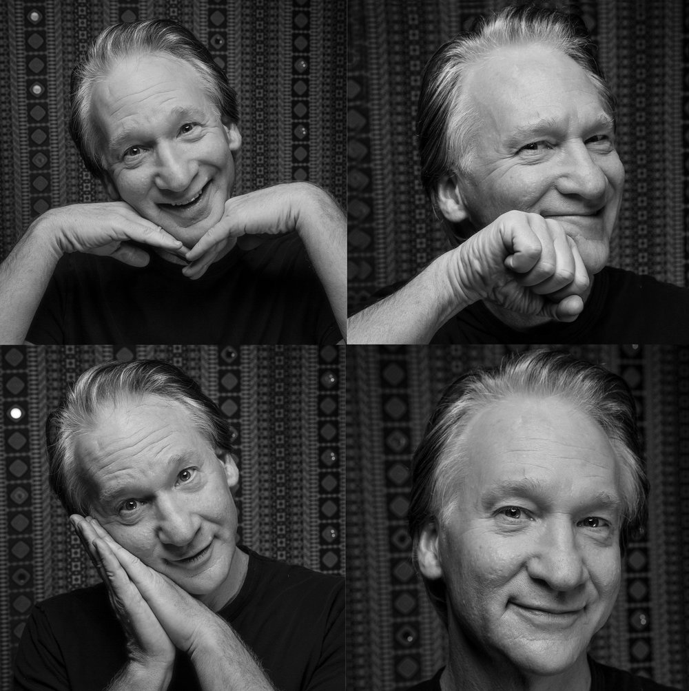 Bill Maher- Faces- NYTimes Business Day