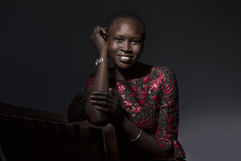 Alek Wek | Skin Deep | The New York Times