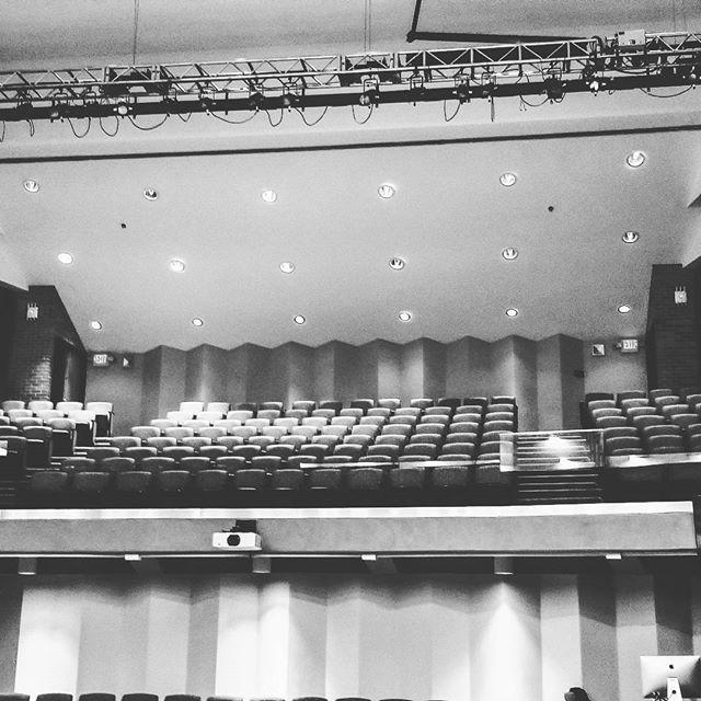 Pre-show view.