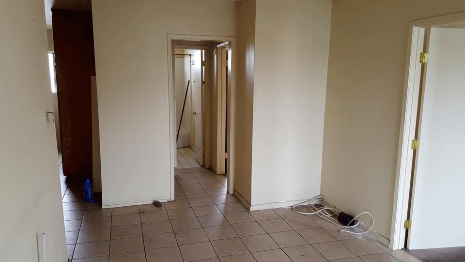 Mid-Renovation Interior