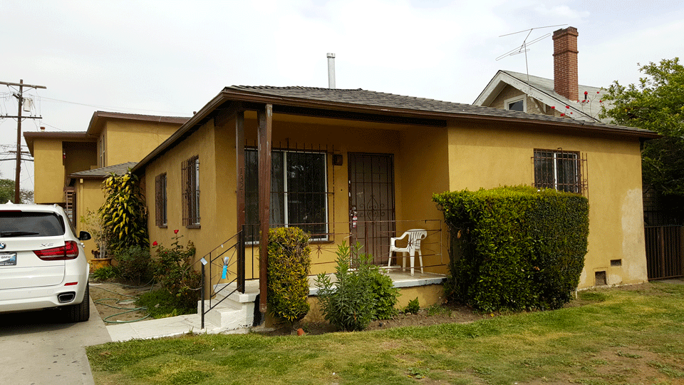 Pre-Renovation Exterior Front
