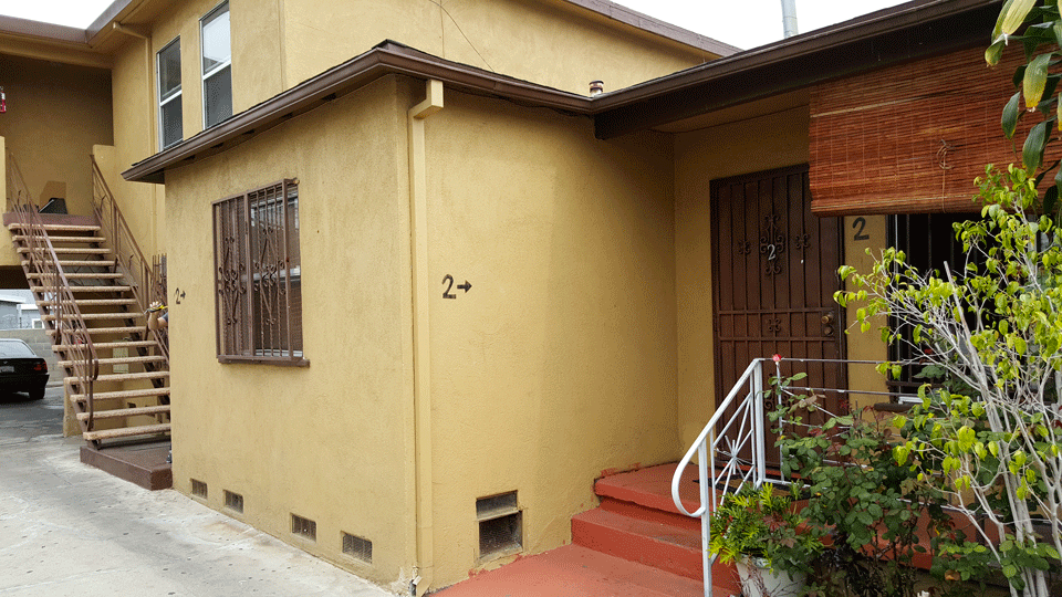 Pre-Renovation Exterior Side