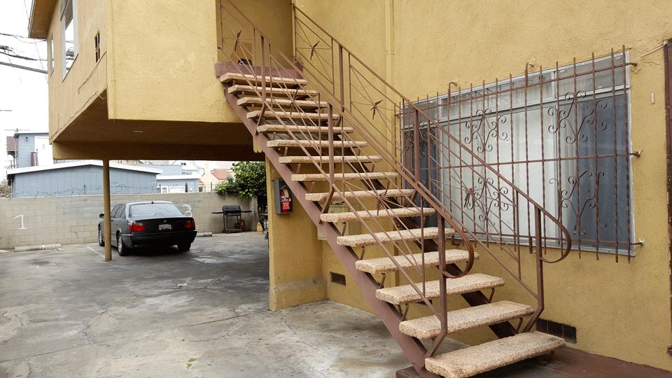 Pre-Renovation Exterior Rear