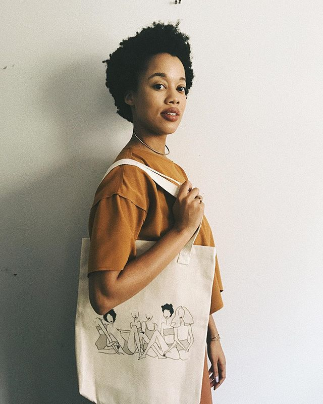 this week, we'll be highlighting some of our favorite fellow black woman owned businesses for our new #whatsblackinmybag series!  our new tote bag celebrate #BlackGirlMagic, just like we do! shop our latest item in our new collection now: link in bio  and join our e-mail list to get our next studio notes straight to your inbox: www.ivoryandashlifestyle.co #ivoryandashlife #totebag #vsco #summer #inspo #BlackGirlMagic #style #ootd #looks