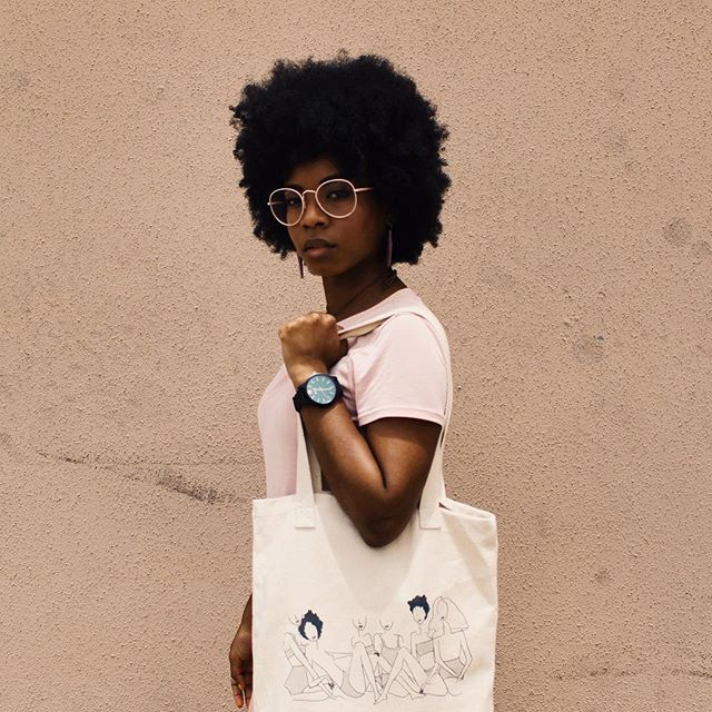 "we're obsessed with this image of @lovekdot in our solange-inspire tote bag. 😻 ain't it beautiful? the sight of a black woman wearing a product that was created just for her. 😏 — our #blackgirlmagic collection is expanding. we're cooking up new ways to celebrate sisterhood + community! here's what our sister-friend @lovekdot thinks of i + a: ""i love #ivoryandashlife because they create products  that I resonate with!"" — @lovekdot  agree? shop our site using the link in our bio! #ivoryandash #whatsblackinmybag"