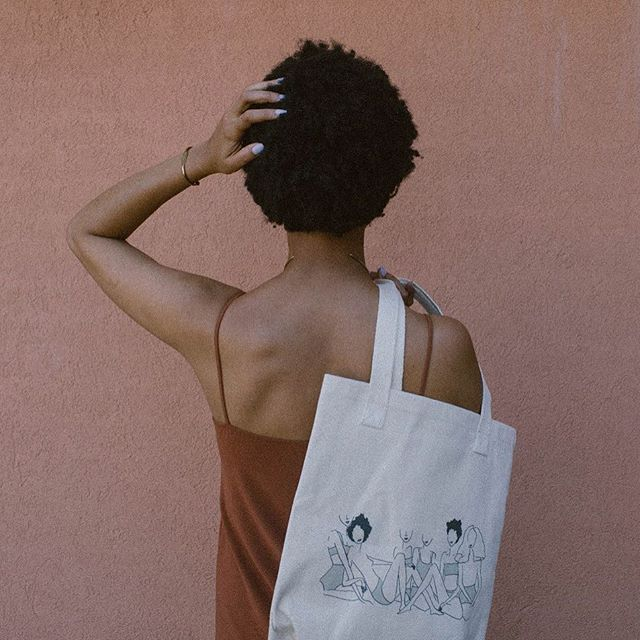 there's magic happening in our online shop. you should take a visit + bag a few goods — including our #blackgirlmagictote. 😉 #ivoryandash #summerlooks