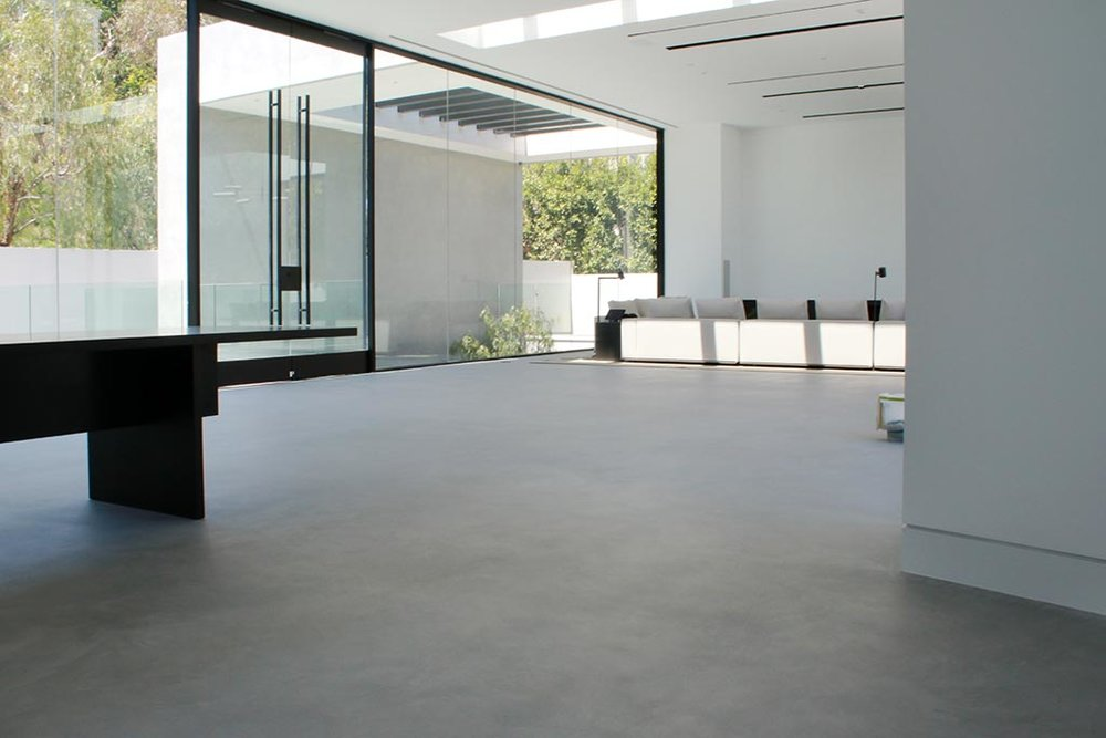 X-Bond Seamless Stone floors