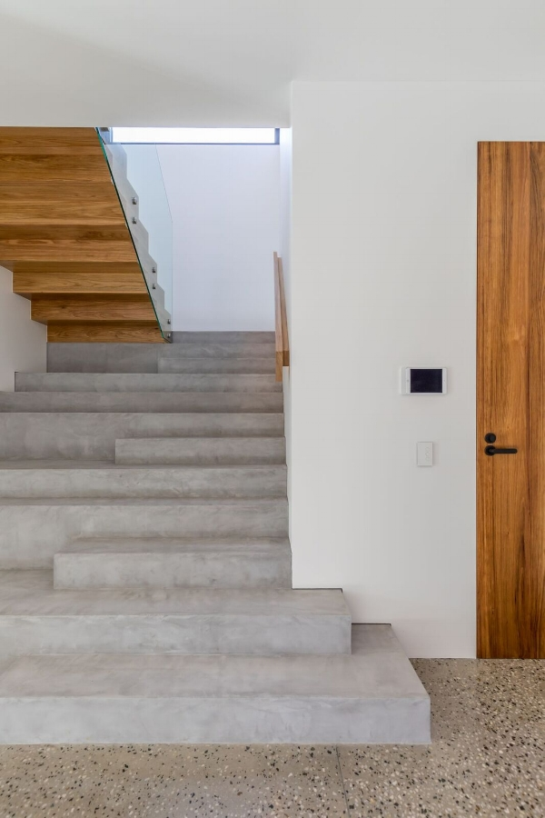 x bond polished concrete, brighton home renovation