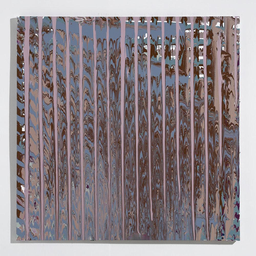 Wood Stain Dripping Series III