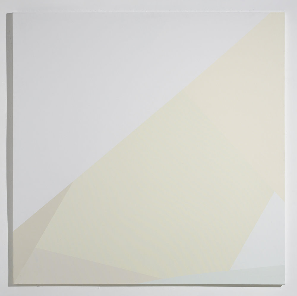 Corner Triangles White