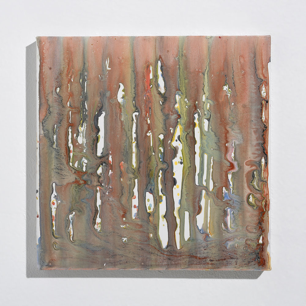 Wood Stain Dripping Studies II
