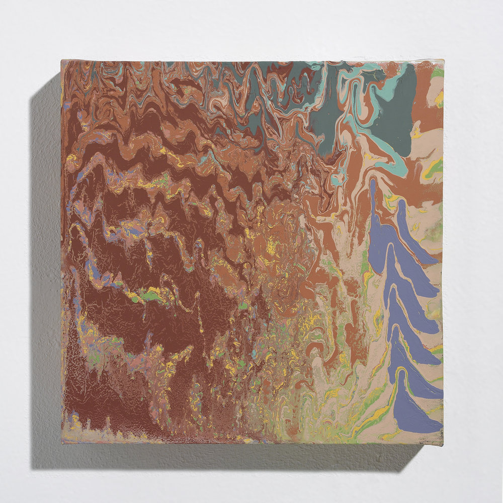 Acrylic Paint Dripping Studies II