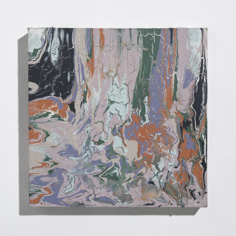 Acrylic Paint Dripping Studies III