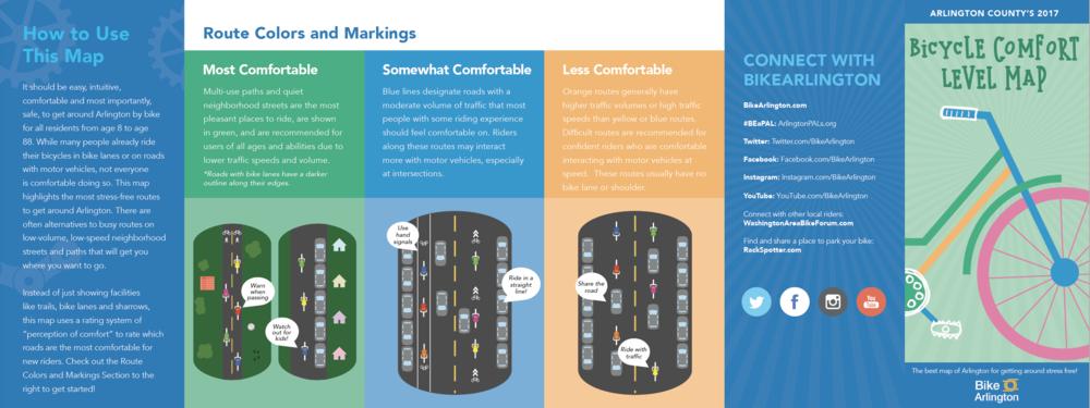 Arlington Bicycle Comfort Level Maps Kate Chanba