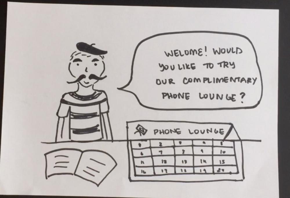 Phone Lounge