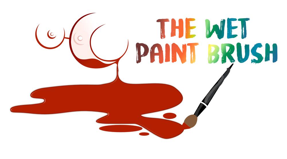 the wet paintbrush