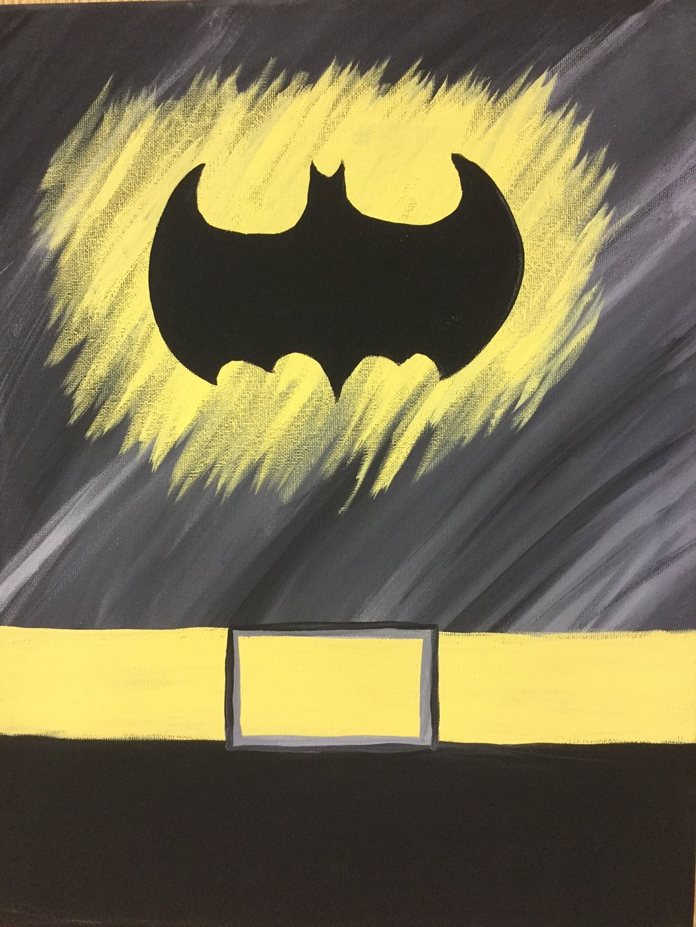 batman- kids halloween costume contest! — the wet paintbrush