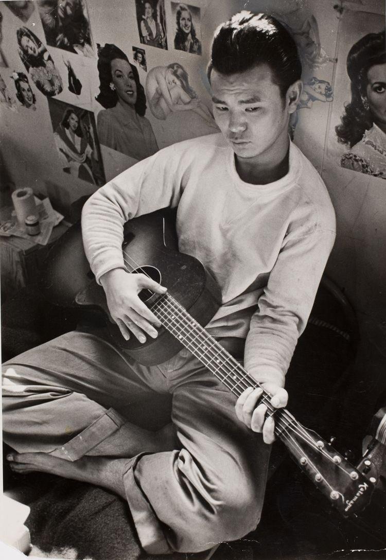Japanese American in Tule Lake internment camp, 1944