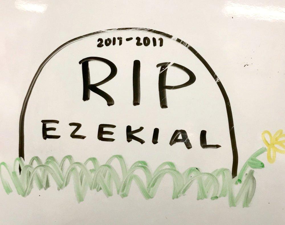 RIP Ezekial