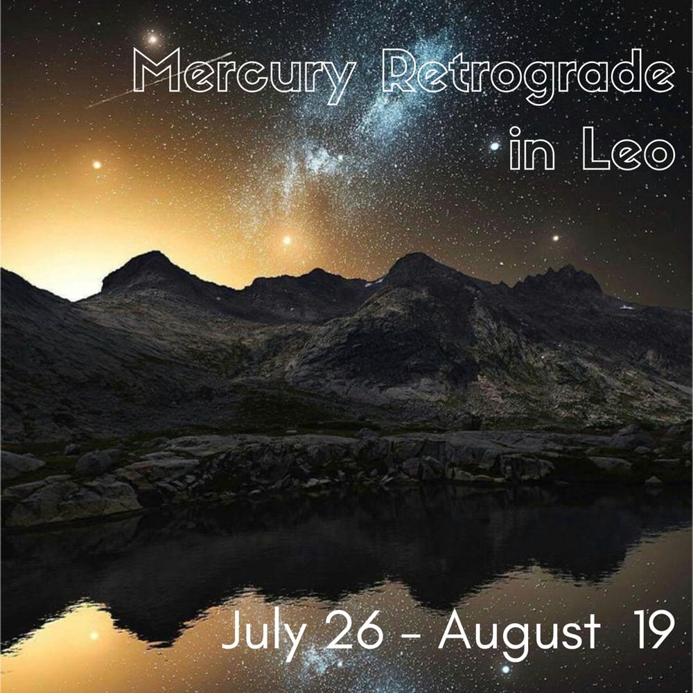 Here we go again....Mercury retro and eclipse season!