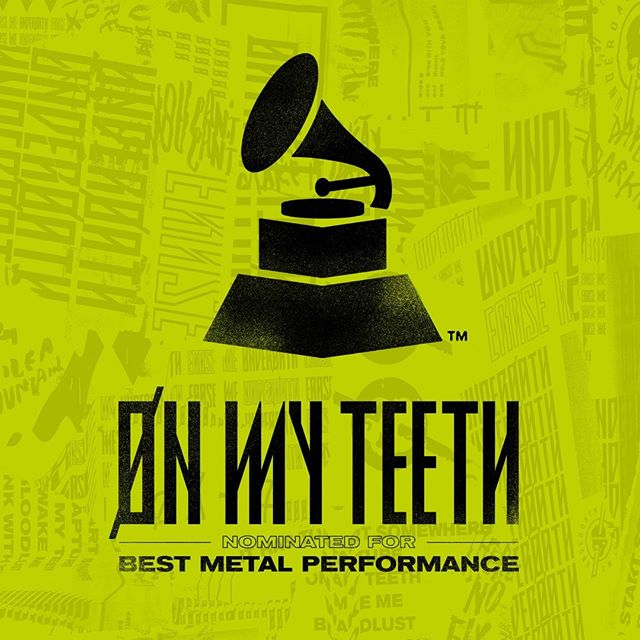 Huge shout out to Underoath as they close out their #ERASEME tour tonight, AND CONGRATULATIONS on the @grammy nomination!!!