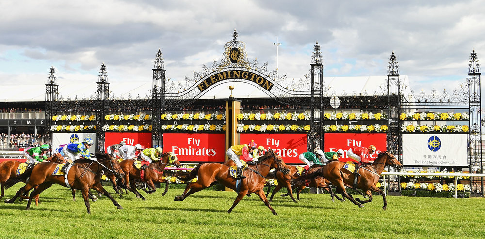 Winning post photo melbourne cup day.JPG