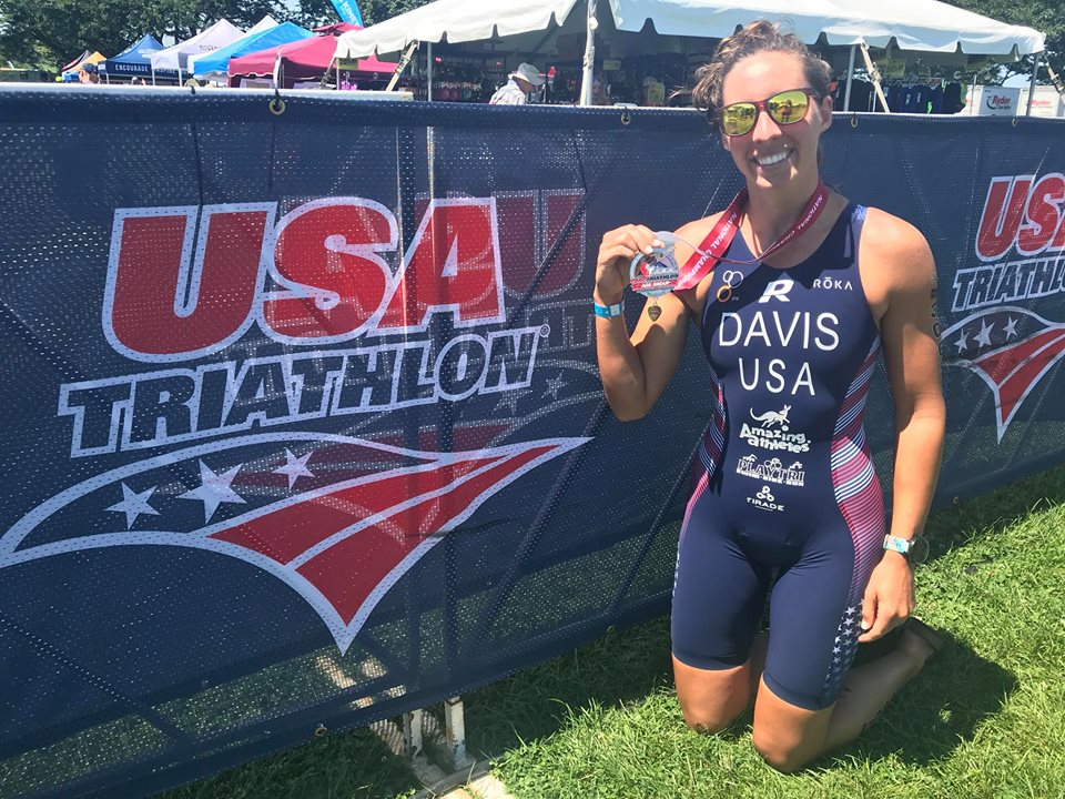 Way to go Morgan!  - Morgan Davis finished 6th in her age group and 23rd overall at the USA Triathlon Age Group National Championships.  We are proud of you Morgan!