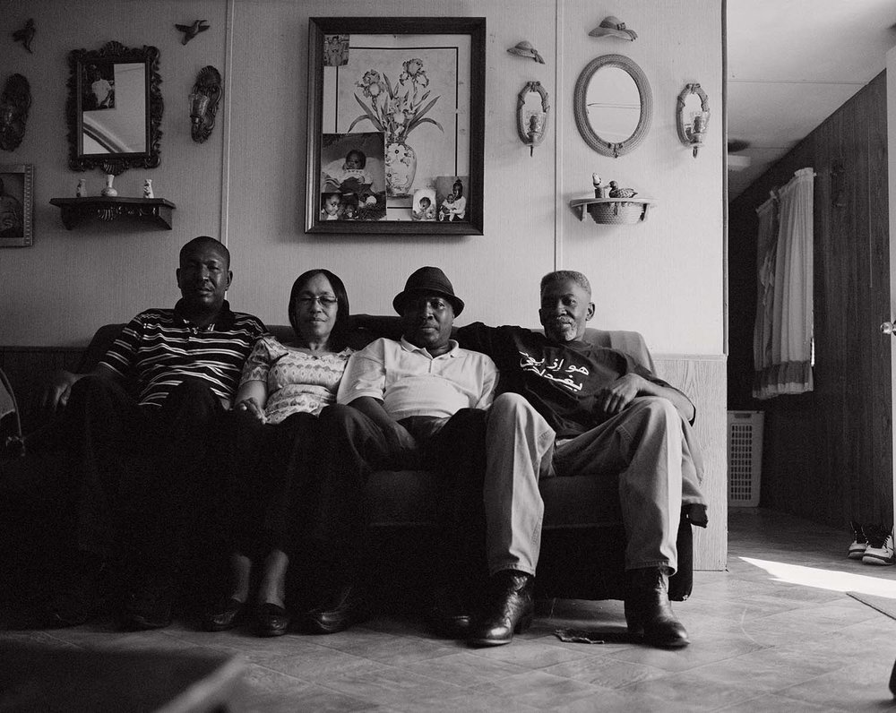edward-earl, his mother patricia with jimmy and levon.