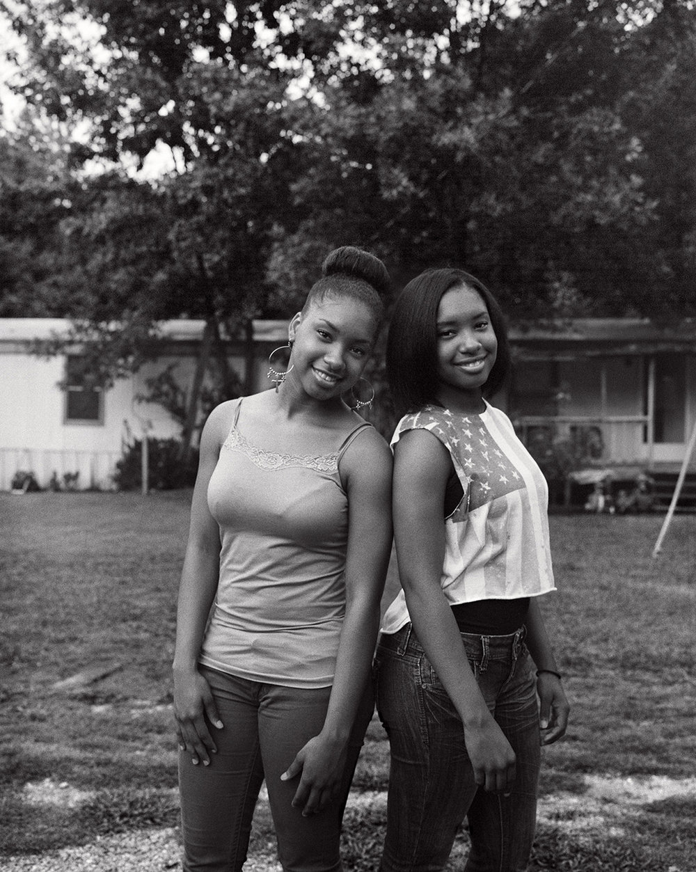kennedy's twin nieces janeshia and janaysha have just started community college.