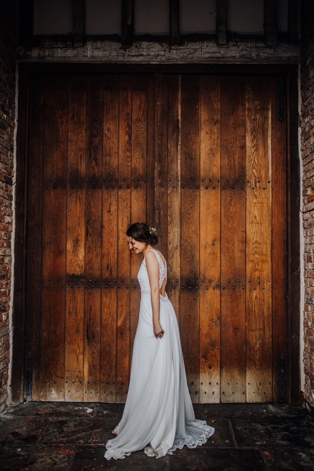A rainy barn wedding at Meols Hall - Southport