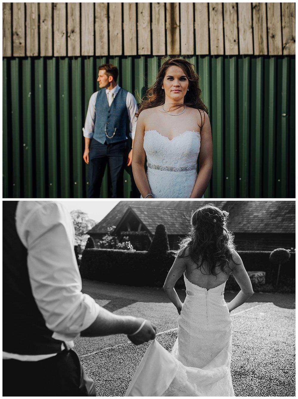 A sunny knees up wedding celebration at Sandhole Oak Barn