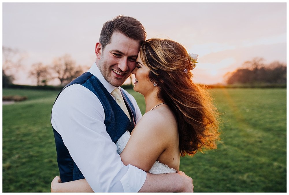 A sunny knees up wedding celebration at Sandhole Oak Barn