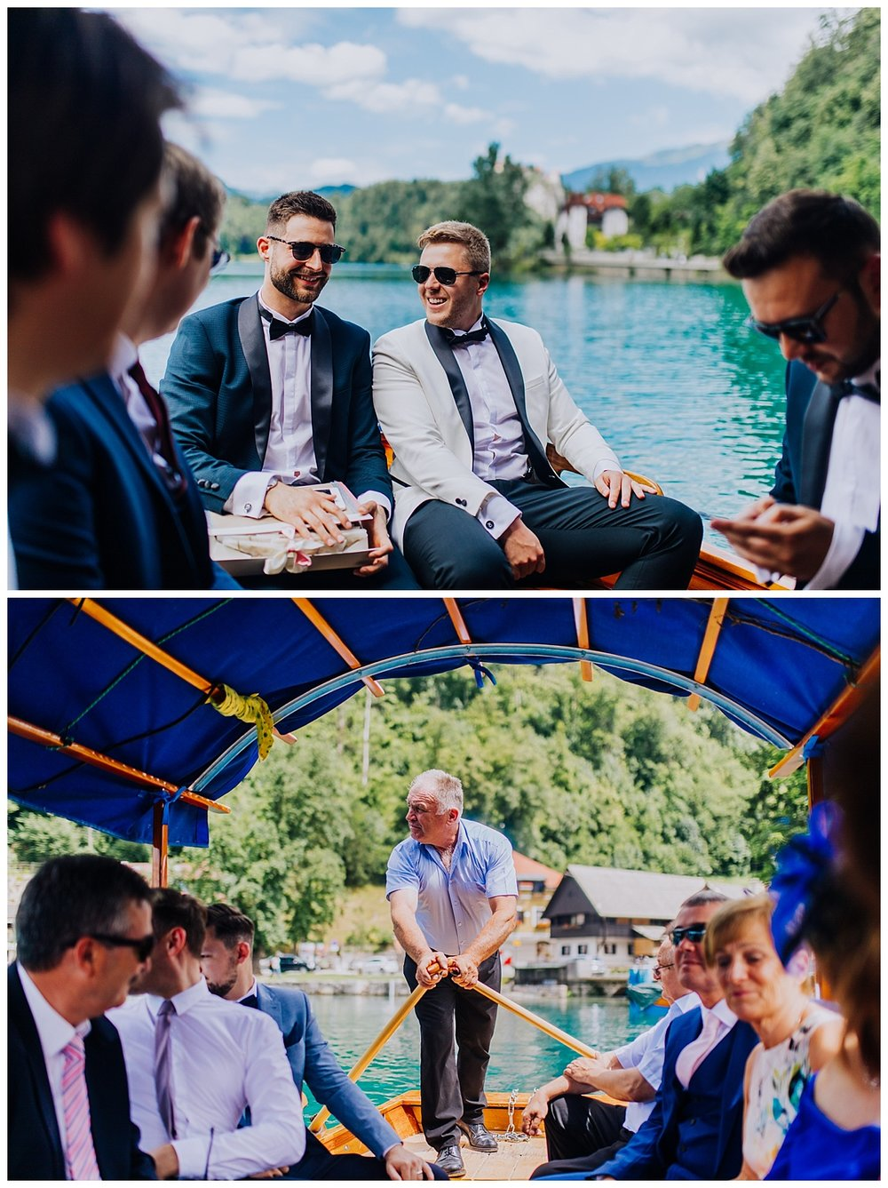 A destination wedding on Lake Bled - Slovenia, Ljubljana