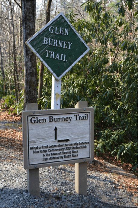 glen burney trail blowing rock nc
