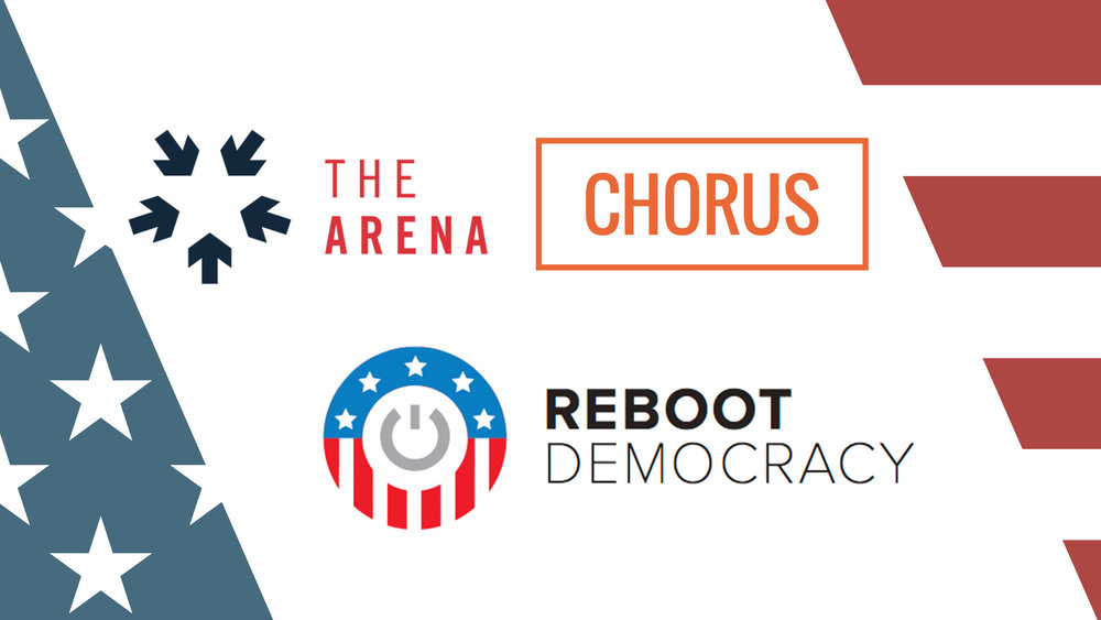 Reboot: Running for Office / Election Tech - May 16th, 2017 @ Covo - 981 Mission Street, San FranciscoIn May we teamed up with The Arena and CHORUS to discuss Running for Office and Election Technology. Teams shared the projects they are working on, we heard from a diverse group of speakers, and we opened up the mic for quick pitches before we kicked off the networking portion of the evening.