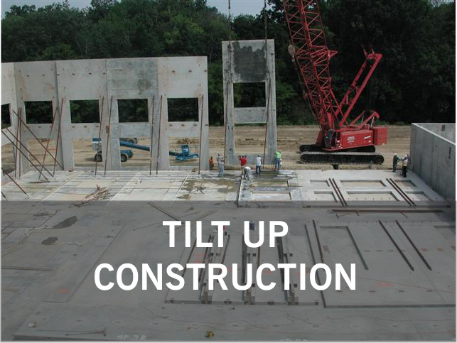 TILT UP CONCRETE.: