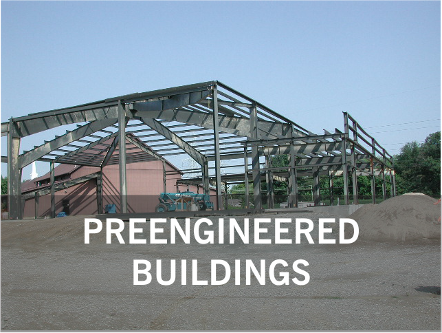 PREENGINEERED BUILDINGS.: